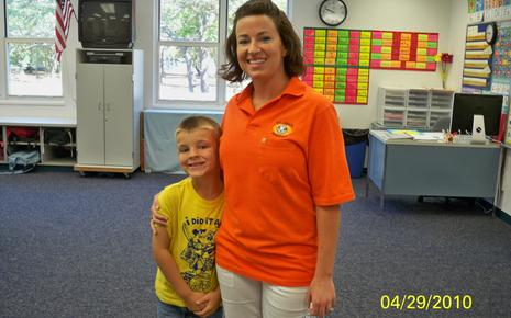 Ms. Nelson and her nephew